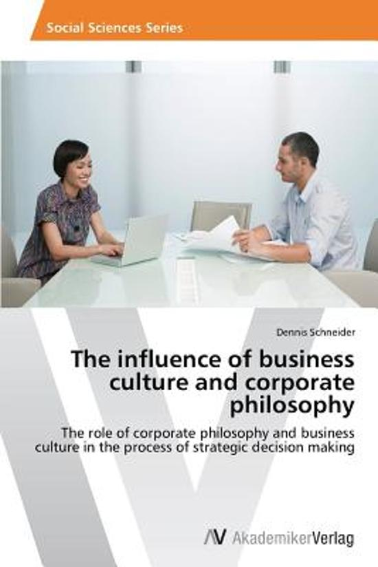 how business culture can influence an Organizational culture can be a factor in the survival or failure of an organization  in an attempt to find aspects of culture that might influence business behavior.