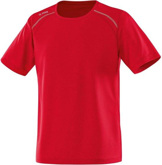 Jako - T-shirt Run - Rood - Maat XL