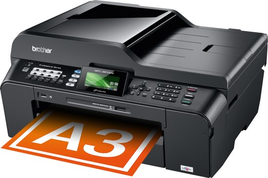 brother mfc j6510dw all in one a3 printer. Black Bedroom Furniture Sets. Home Design Ideas
