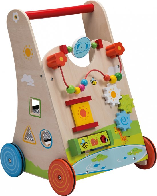 Jouéco Babywalker met vormenstoof - Loopwagen