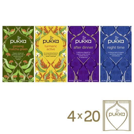 Pukka Day to Night box Biologische thee - 4x20 theezakjes
