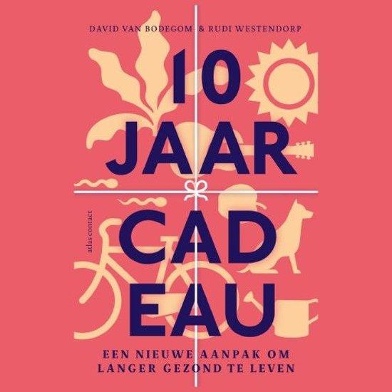 Boek cover 10 jaar cadeau van David van Bodegom (Onbekend)