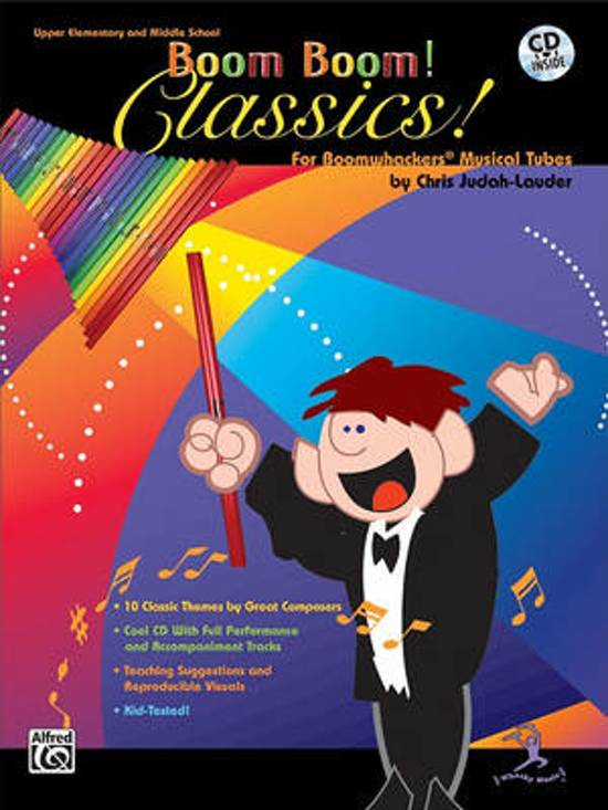 Iets Nieuws bol.com   Boom Boom! Classics! for Boomwhackers Musical Tubes &WY18