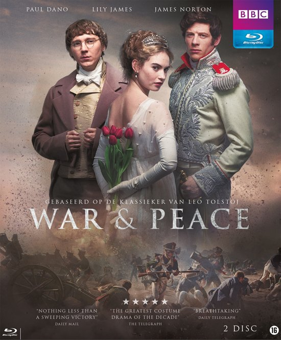 DVD cover van War & Peace (2016) (Blu-ray)