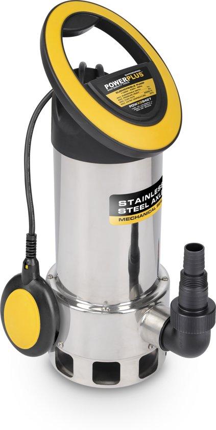 Powerplus POWXG9427 Dompelpomp vuil water - 1100 W - 20000 l/h - Inox tank
