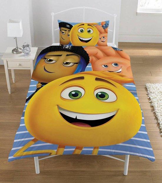 Emoji The Movie - Dekbedovertrek - Eenpersoons - 135 x 200 cm - Multi