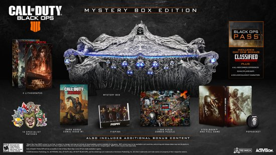 Call of Duty: Black Ops 4 - Mystery Box Edition - PS4