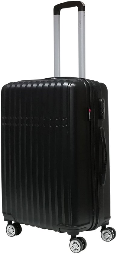 Benzi Crato - medium koffer - 64 cm - zwart