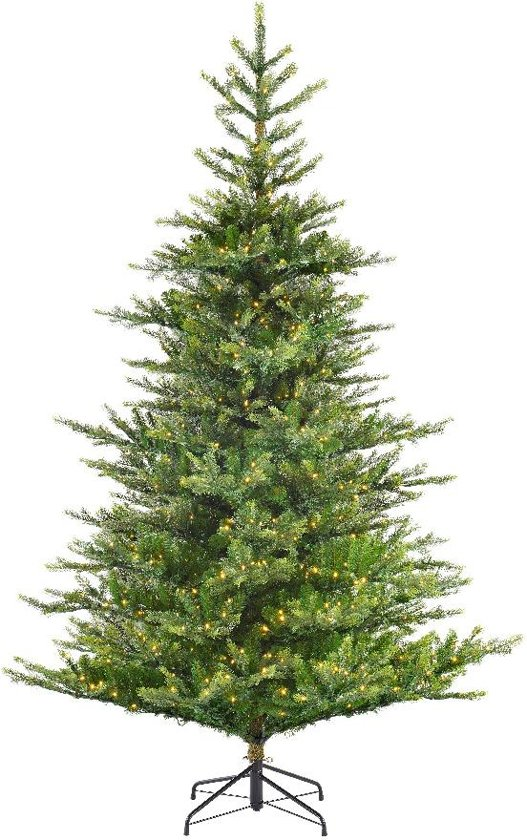 Kunstkerstboom Everlands LED Grandis Fir Green 180 cm - 390 Lampjes Valentinaa