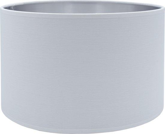 Light & Living MIRA Cilinder - lampenkap - Ø30 cm - Wit Zilver
