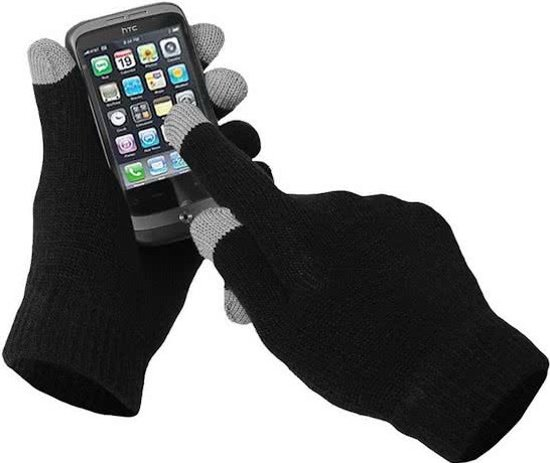 Huismerk Handschoenen voor apparaten met touchscreen - One Size