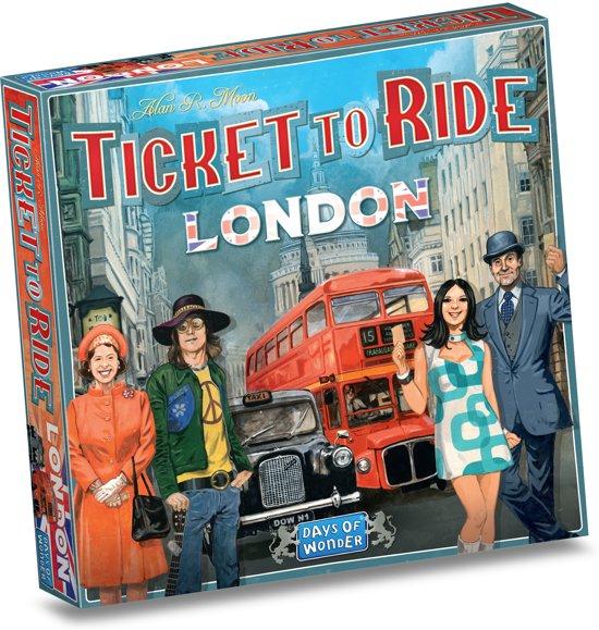Afbeelding van Ticket to Ride London - Bordspel speelgoed