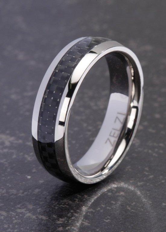 ZELZI Titanium ring: Melanthi 24 millimeter