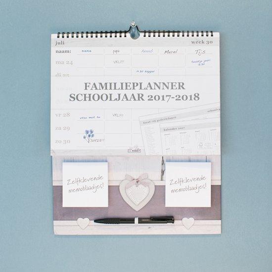 Familieplanner schooljaar 2017-2018 - Memo 1