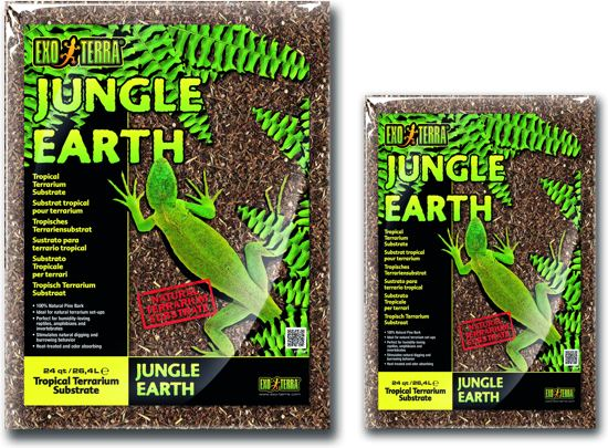 Exo Terra - Tropisch Terrariumsubstraat Jungle Earth - 26,4L