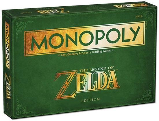 Afbeelding van het spel Monopoly The Legend of Zelda - Bordspel