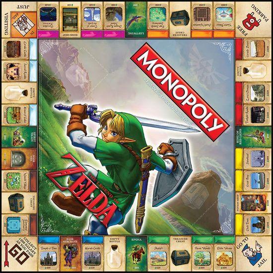 Monopoly The Legend of Zelda - Bordspel