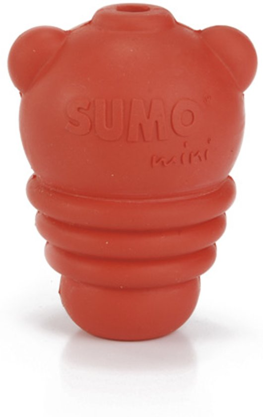 Beeztees Sumo Mini Play - Hondenspeelgoed - Rood - XS
