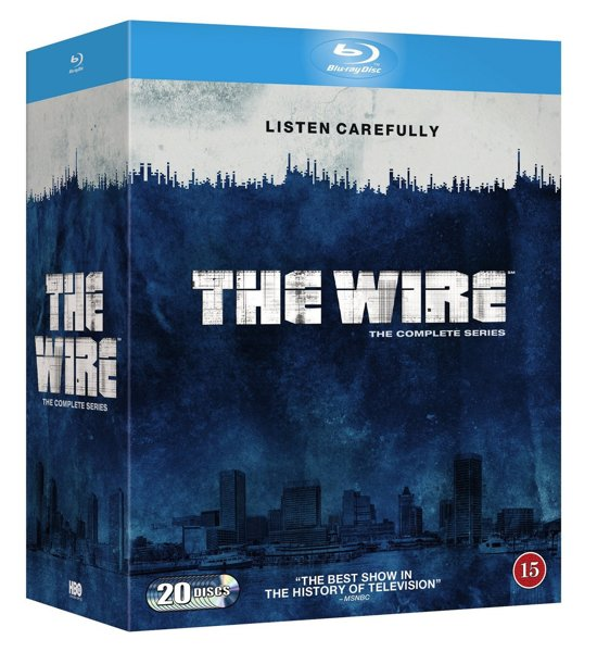 The Wire Complete blu-ray (Import met NL)