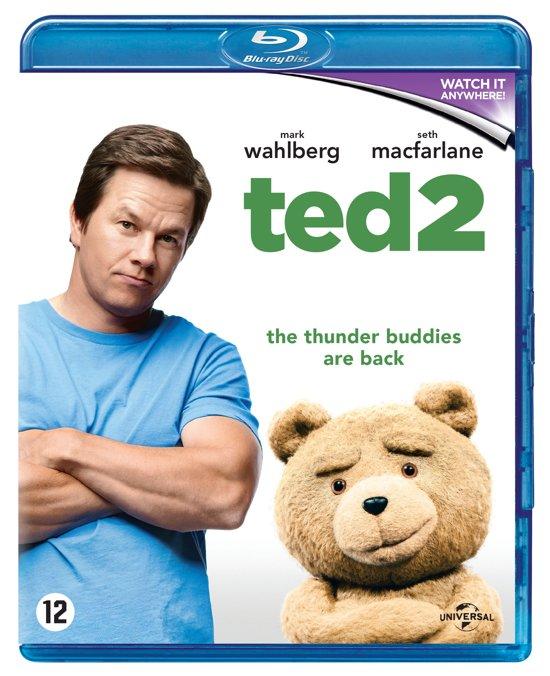 DVD cover van Ted 2 (Blu-ray)