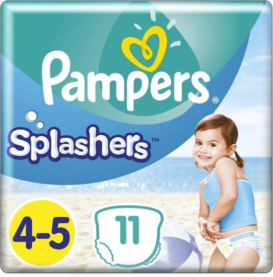 Pampers Splashers Maat 4-5 -11 Stuks - Wegwerpbare Zwemluiers