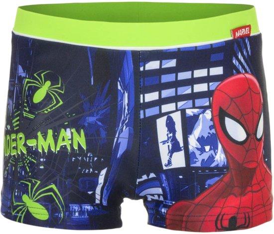 Spiderman zwembroek maat 128 groen