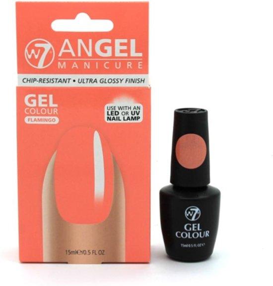 W7 Angel Manicure Gel Nagellak Flamingo