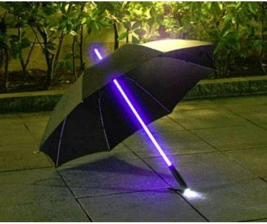 bol.com | Paraplu met led verlichting en zaklampfunctie - set van 2 ...