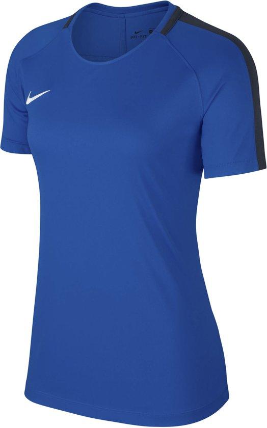 Nike Dry Academy 18 Sportshirt performance - Maat S - Vrouwen - blauw