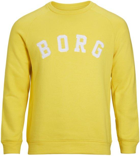 Bo SporttruiSportswear L Geel Heren Borg Crew Maat Bjorn AjL5qR34