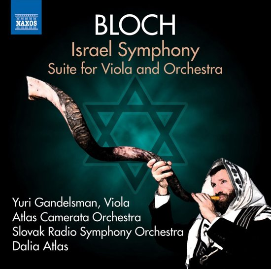 Israel Symphony, Suite For Viola And Orchestra