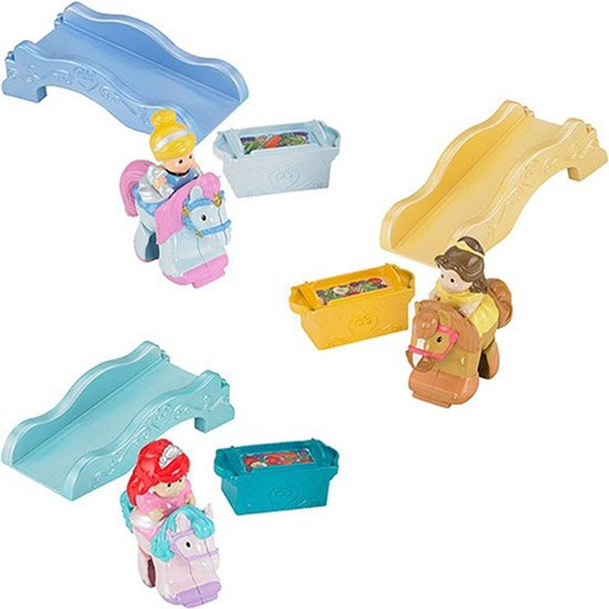 Fisher Price Little People Klip-Klop Disney Prinses met Paard Assorti