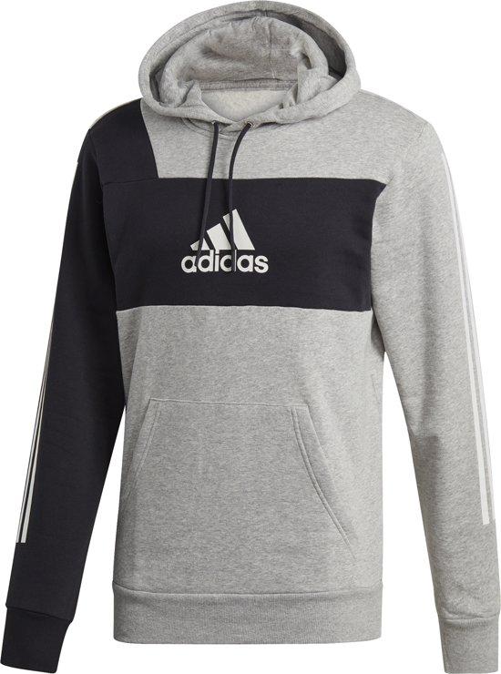  adidas Sport ID PO Heren Sporttrui Medium Grey