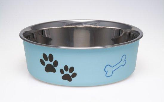 Loving Pets Bella Bowl - Voerbak - Large 1.5L - Blauw