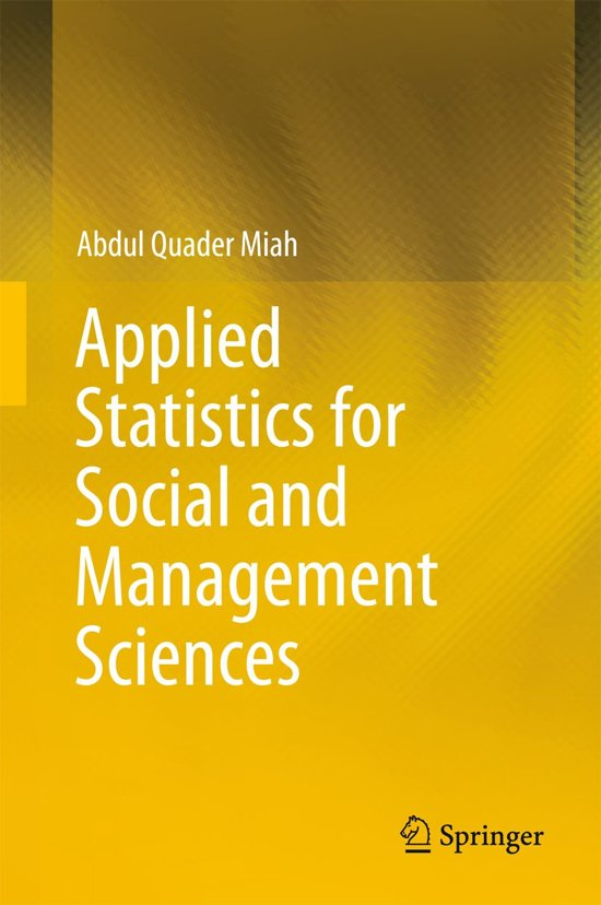 applied managerial statistics Move from probably to certainly by applying statistics to managerial [statistics applied] the importance of statistics in management decision making.