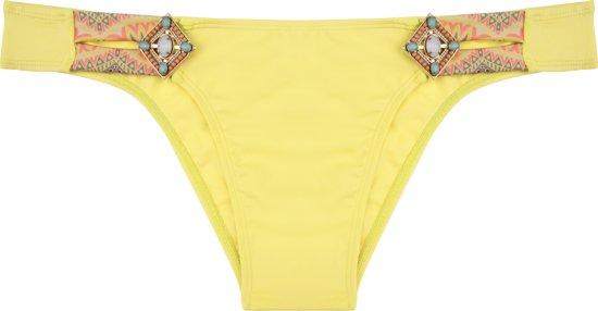 40 Bikini BottomibizaLush GeelL Boho Yellow deWBoxrC