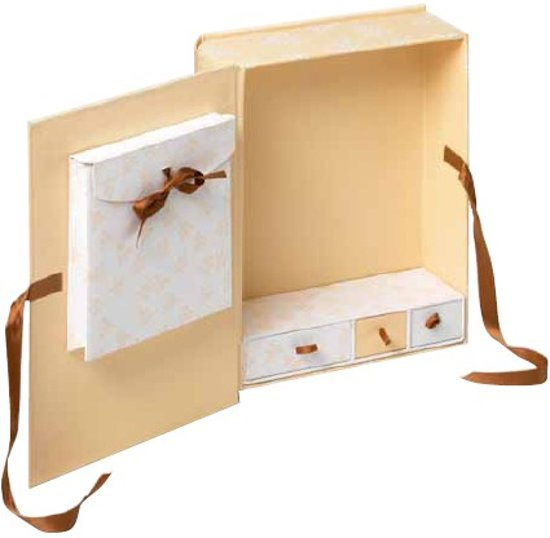 Walther Design FB-174 Sweet Things - Baby Bewaarbox - 29 x 34 cm - Crème