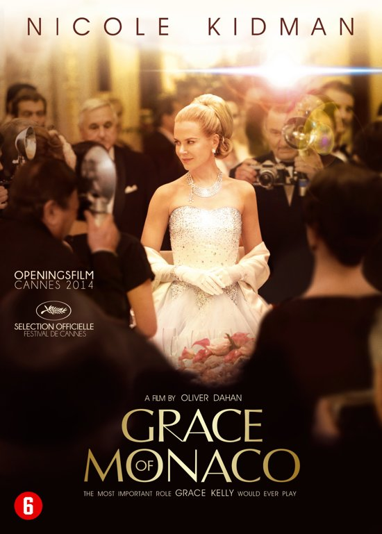 DVD cover van Grace Of Monaco
