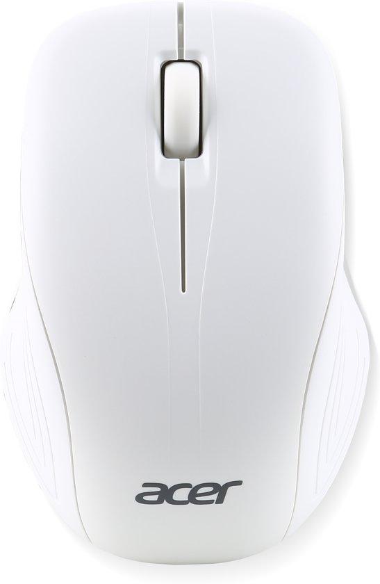 Acer AMR510 muis RF Draadloos Optisch 1000 DPI Ambidextrous Wit