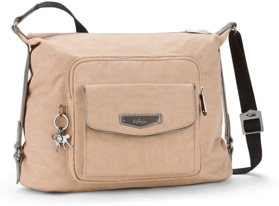 Kipling Chipper Schoudertas - Clouded Beige