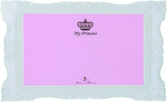 Trixie my princess placemat roze/wit