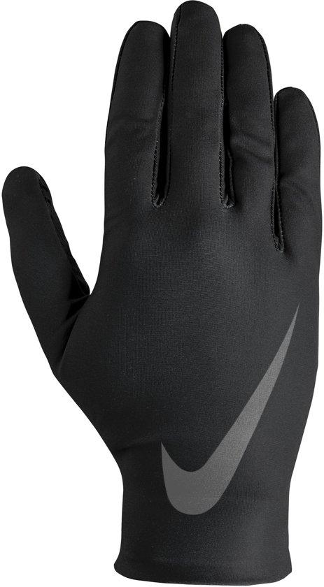 Nike  Base Layer Men's Gloves Hardloophandschoenen - Mannen - grijs/zwart