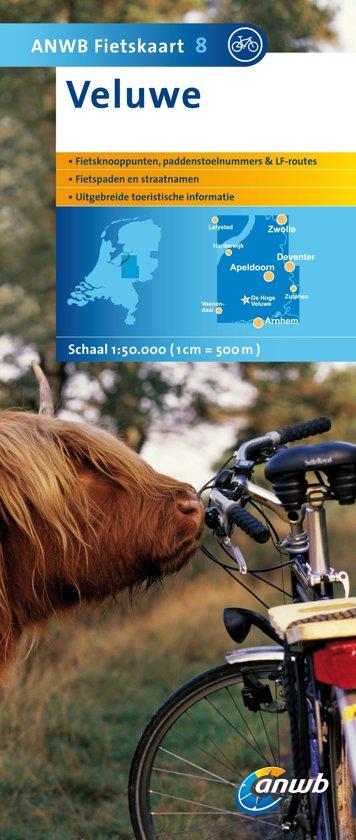 ANWB fietskaart 8 - Veluwe