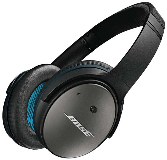 Bose Quiet Comfort 25 Apple - Over-ear koptelefoon met noise cancelling - Zwart