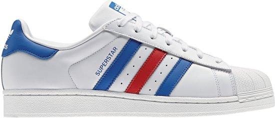0be16144c0e adidas Superstar Sneakers Heren Sneakers - Maat 42 2/3 - Mannen - wit/