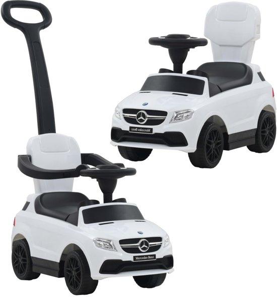 Bol Com Vidaxl Loopauto Met Duwstang Mercedes Benz Gle63 Wit