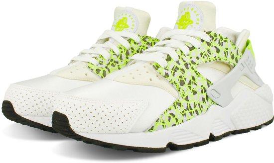 87f42eb391a NIKE WMNS AIR HUARACHE RUN PREMIUM 683818 101 - Sneakers - Vrouwen - Wit; Groen