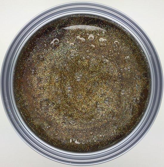 Hooglans Glitterverf 1L, transparant op alcyd basis