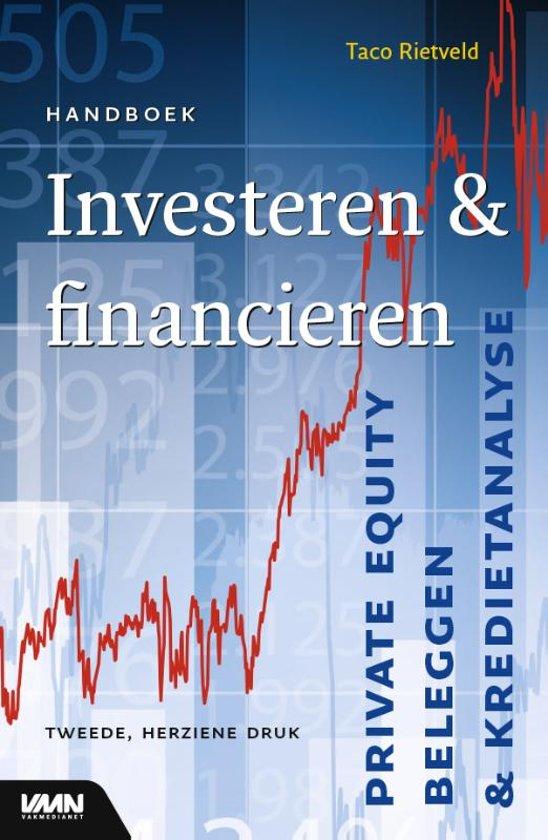 Boek cover Handboek investeren & financieren van Taco Rietveld (Paperback)
