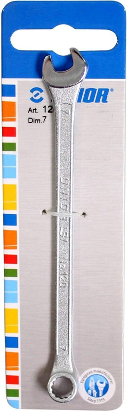 Unior steek/ringsleutel 7mm